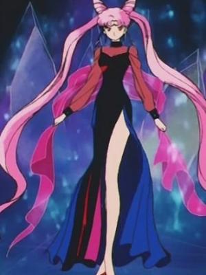 Black Lady peluca de Pretty Guardian Sailor Moon
